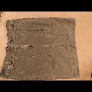 J.Crew military style skirt
